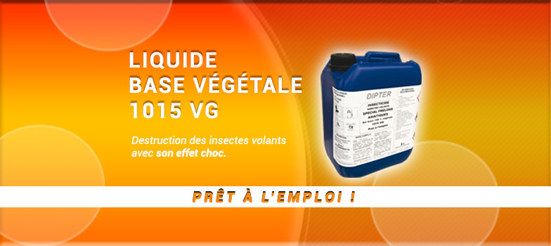 INSECTICIDE A BASE HUILE VEGETALE 1015VG
